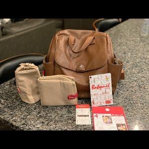 Babymel London - convertible diaper bag